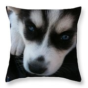 Not In A Good Mood Throw Pillow