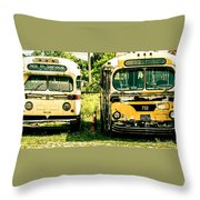 Not In Service Throw Pillow