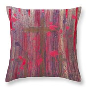 Not In Vain Throw Pillow by Angelina Vick