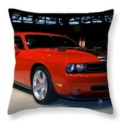 Not Just Another Challenger Throw Pillow