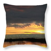 Not Just Another Sunrise Throw Pillow