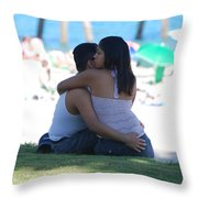 Not Married Throw Pillow