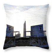 Not On Duty Throw Pillow