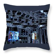 Not So Drywall Throw Pillow