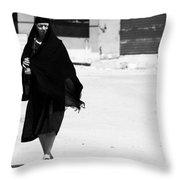 Not Stalking  Throw Pillow