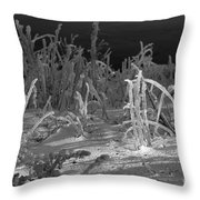 Not What It Seems Throw Pillow