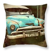 Not Yet Running Throw Pillow