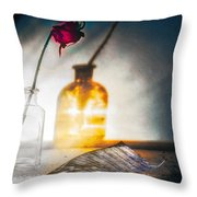Notes Forgotten Throw Pillow