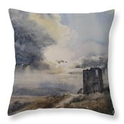 Nothern Storm Throw Pillow