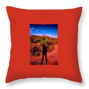 Nothing But A Shadow Throw Pillow