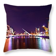 Nothing But Lights Throw Pillow