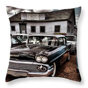 Nothing Buy Skies And Chevy's 2 Throw Pillow by John De Bord