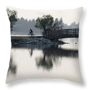 Nothing Is Ours But Time 4 Throw Pillow