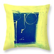 Nothing Seen Throw Pillow