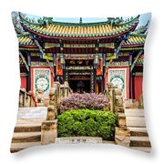 Nothing-to-be-done-bridge Throw Pillow