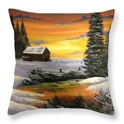 Nothing To Do  Throw Pillow