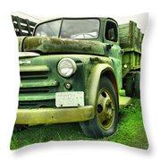 Nothng Like An Old Dodge Throw Pillow