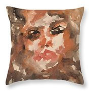 Noto I Throw Pillow by Khalid Alzayani