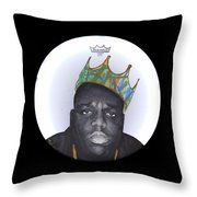 Notorious Throw Pillow