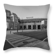 Notre Dame Football Staduim  Throw Pillow