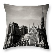 Notre Dame II Throw Pillow