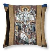 Notre Dame's Touchdown Jesus Throw Pillow