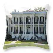 Nottoway Plantation Throw Pillow