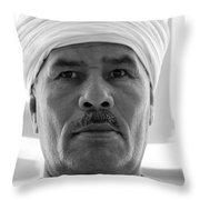 Nouria Here Throw Pillow