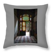 Apartment Entrance - Venice, Italy Throw Pillow