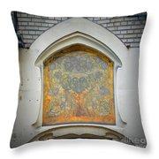Nouveau Design Throw Pillow