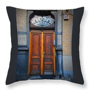Nouveau Door Throw Pillow