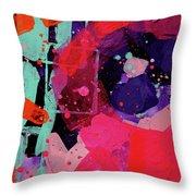 Nova Abstract Throw Pillow