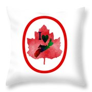 Nova Scotia Proud Throw Pillow