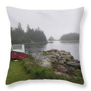 Nova Scotia Throw Pillow