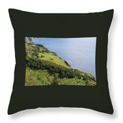 Nova Scotia Slope Throw Pillow