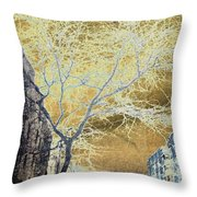 November In The Heights Throw Pillow