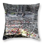 November Woods 1 Throw Pillow