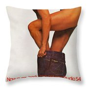 Now Everybody Can Get Into Studio 54 Throw Pillow