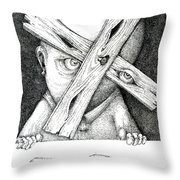 Now I'm Free To Have Any Point Of View Throw Pillow