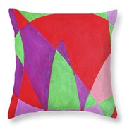 Now In Abstract Text Art Throw Pillow