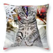 Now Where Did That Ornament Go I Just Saw It A Second Ago Throw Pillow