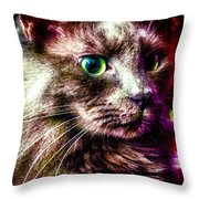 Nox Rules Revised Throw Pillow