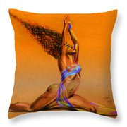 Nrg Sunset Throw Pillow