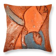 Nsitula - Tile Throw Pillow