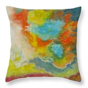 Nuages Throw Pillow