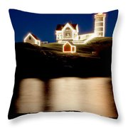 Nubble Stars Throw Pillow