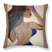 Nubian  Throw Pillow