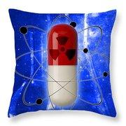 Nuclear Medicine Throw Pillow