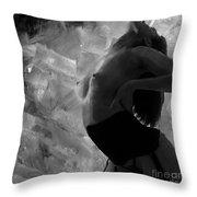 Nude 031 Throw Pillow