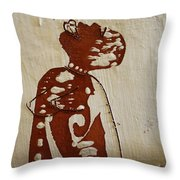 Nude 1 Throw Pillow